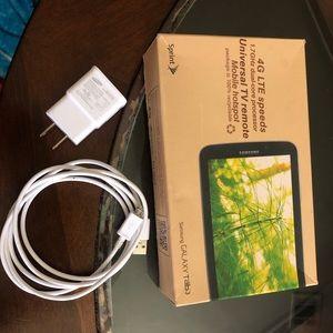 Samsung Galaxy Tab 3 with Case